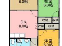 賃貸 セゾンライト 商談中 2階 間取り図