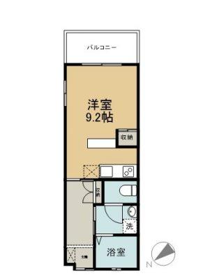 丸富マンションⅧ 306 間取り図