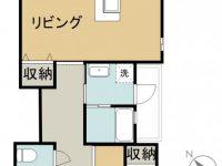 賃貸 SHIMA SHIMA HOUSE 2階 間取り図