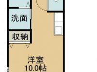 賃貸 ひかりハウス 3階 間取り図