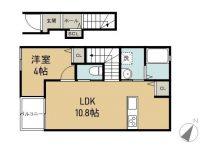 賃貸 シンアイマンションⅠ 1階 間取り図