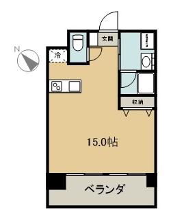 フレシールKirara 202 間取り図
