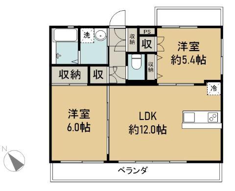 K.my.House 商談中 505 間取り図