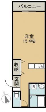 宮古島SAKURAⅡ 1-D  間取り図