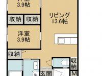 賃貸 SHIMA SHIMA HOUSE 1階 間取り図