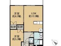 賃貸 喜納様共同住宅 4階 間取り図