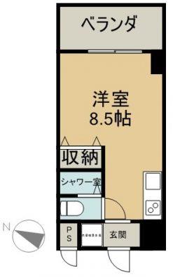 lalliance pas a pas 105 間取り図