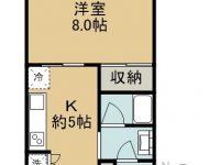 賃貸 喜納様共同住宅 2階 間取り図