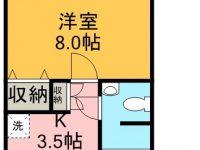 賃貸 リゾートマンションレキオス 3階 間取り図