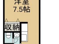 賃貸 オアシティーリピート 2階 間取り図