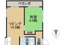 賃貸 第一平良ビル 3階 間取り図