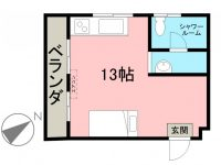賃貸 センチュリーマンション 2階 間取り図