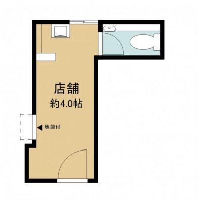 宮古島三線工房店舗 R号室 間取り図