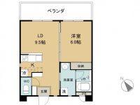 賃貸 SiestaⅡ 3階 間取り図