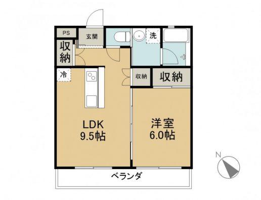 K.my.House 503 商談中 間取り図
