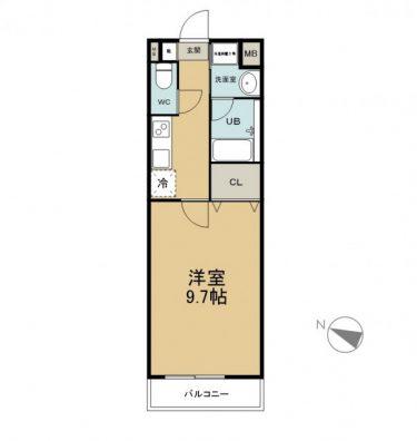 THE NATURE 108 商談中 間取り図